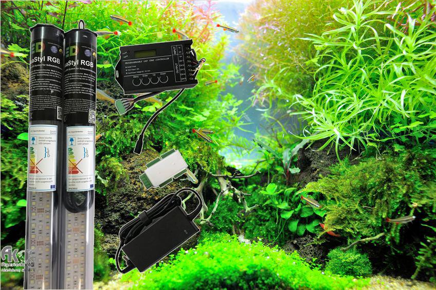 Scaping-Light basic RGB LED-Sets für Pflanzen- und Cichliden- aquarien.