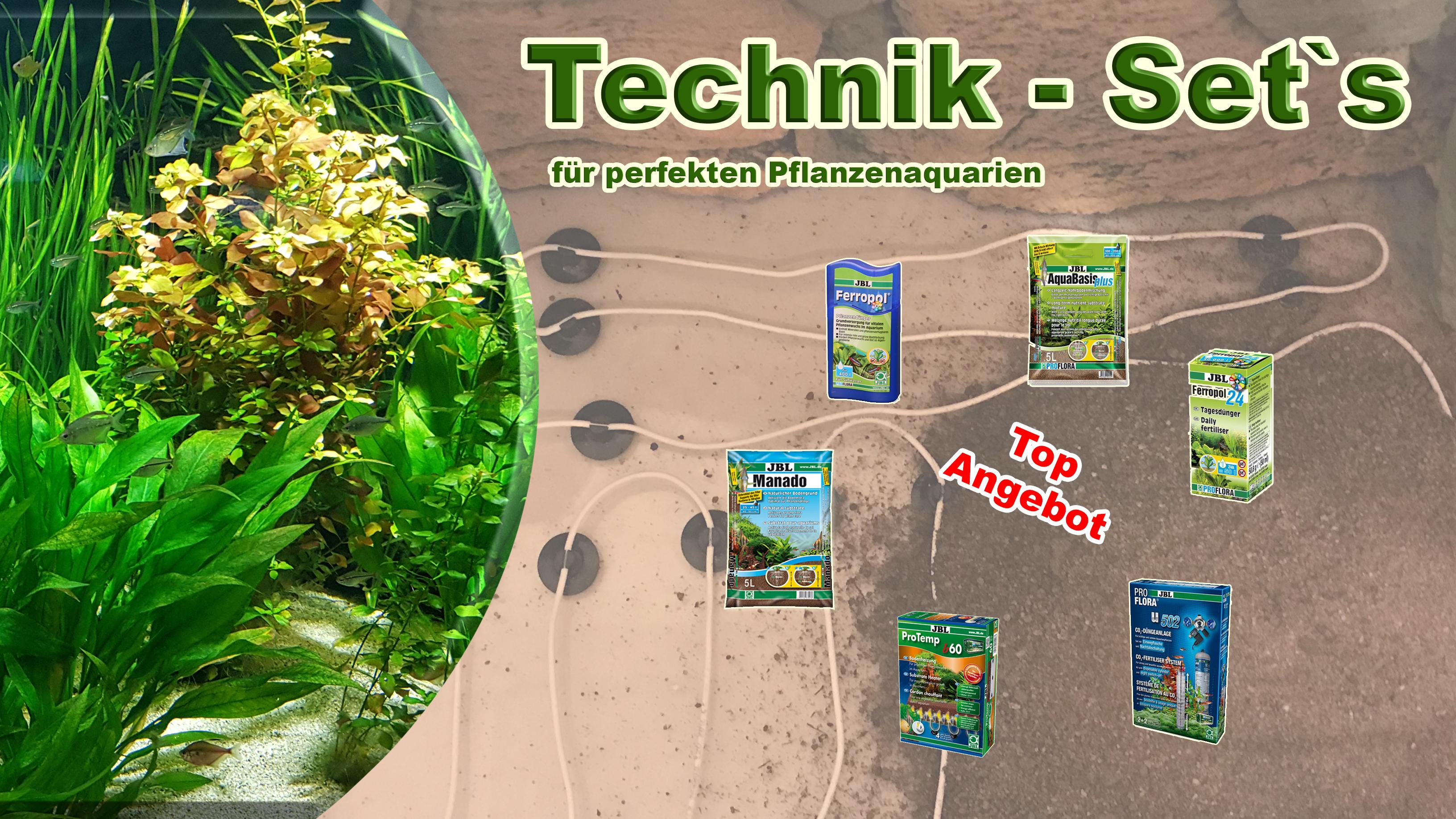 Technik-Set für Pflanzenaquarien