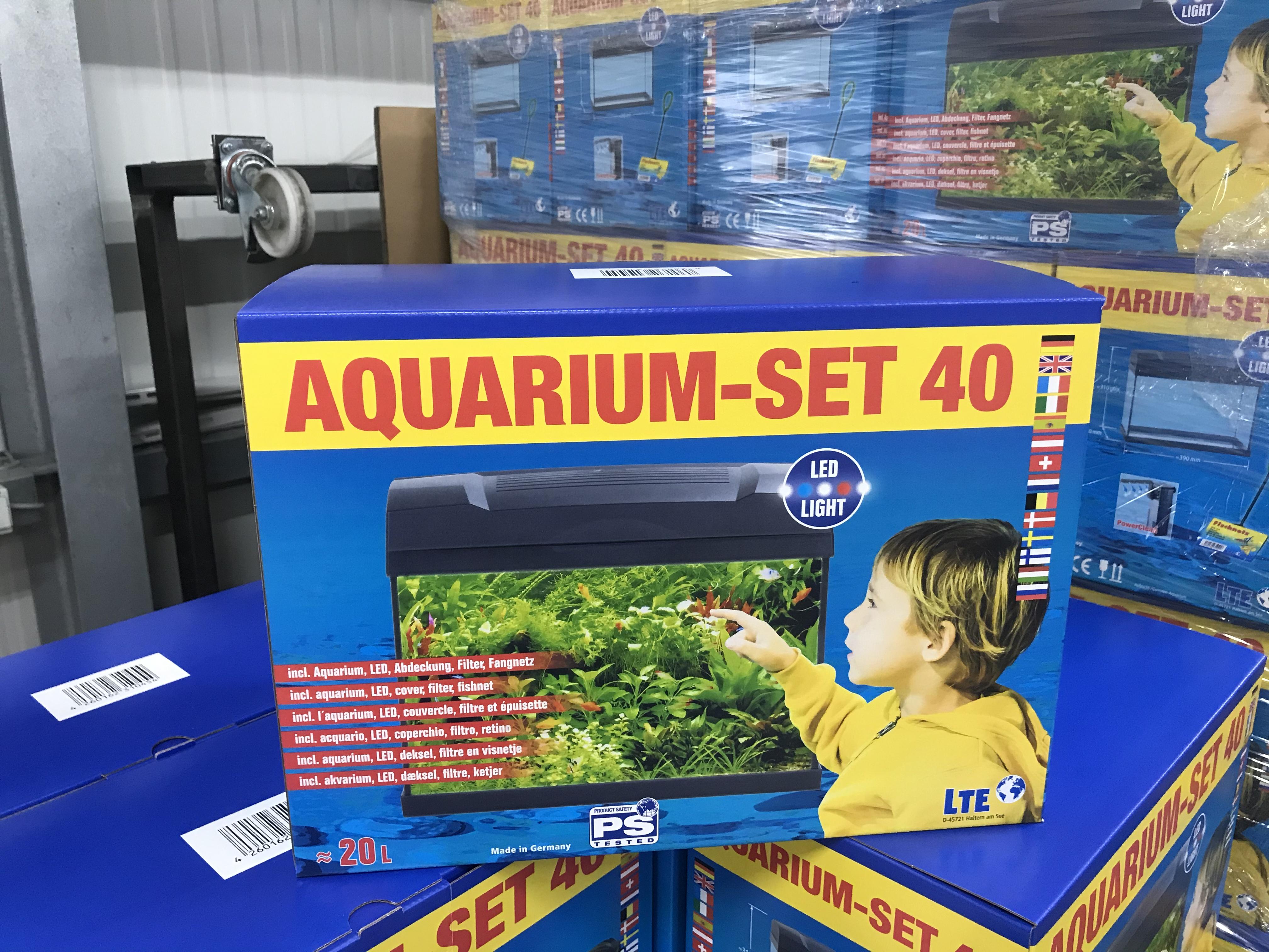 Das Aquarium-Set 40