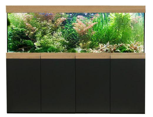 Aquarienkombination Imperial 160x70x60 cm / ca. 716 Liter / 12 mm Glas