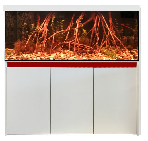 Aquariumkombination Esprit 130x60x70 cm / ca. 546 Liter / 12 mm Glas