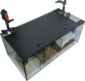 Bio-Plus 100 (100×40×40) cm, Süßwasser-Außenfiltersystem inkl. Filtermedien - Die neue Generation !